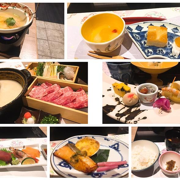 Dinner @ 箱根 紗ら