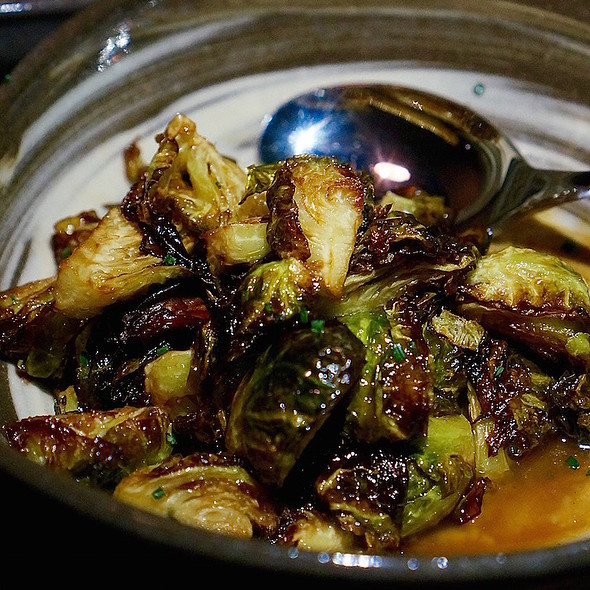 Brussels sprouts, pistachio, rosemary