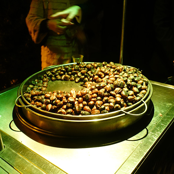 Roasted Chestnuts @ Milano