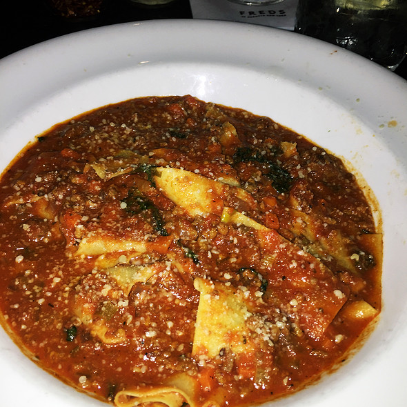 Pasta Bolognese @ Fred's At Barneys