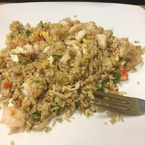 Fried Rice + Shrimp