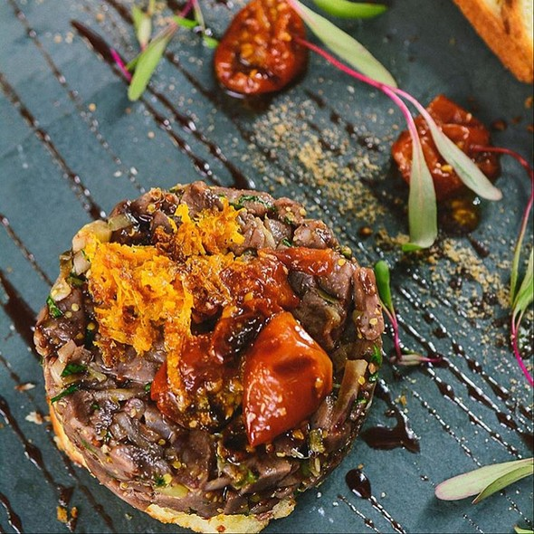 Tartar De Carne De Cabra @ La Cave