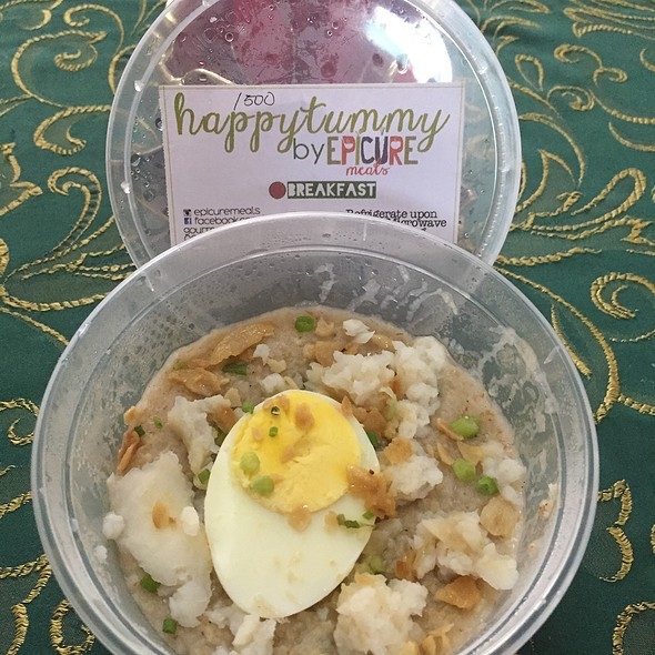 Oatmeal Cobbler Congee