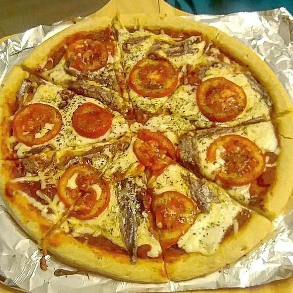 Anchovies Pizza @ Dharma's Kitchen