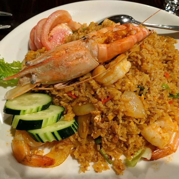 Shrimp Paste Fried Rice @ Sweet Rice