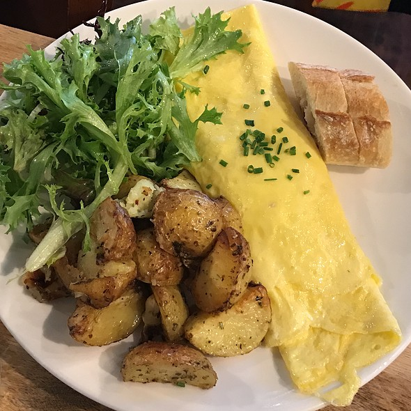 Cheese Omelette @ Haven Cafe & Bakery