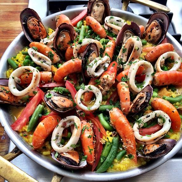 Paella @ Restaurante Santinho Museu da Casa Brasileira