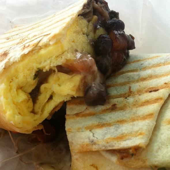 Breakfast Burrito @ Urth Caffe