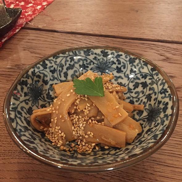 Spicy Menma @ Hinodeya Ramen Bar