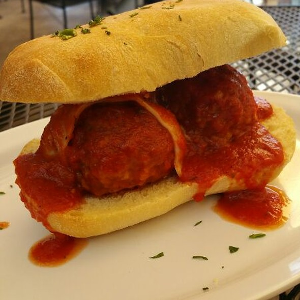 Carlo's Meatballs Sandwich @ Carlo & Emilie's Gourmet Deli