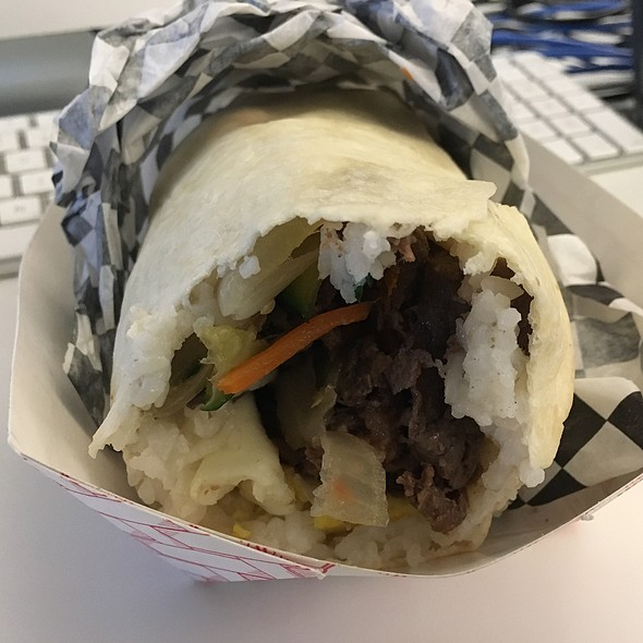 Bibimbap Burrito