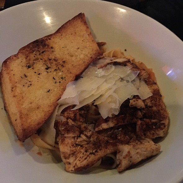 Blackened Diablo Chicken Alfredo @ On The Rocks Bar And Grill