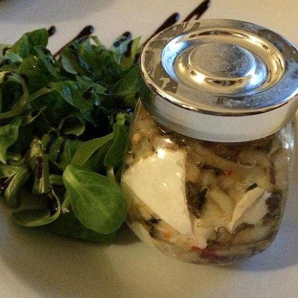 Pickled Camembert Cheese