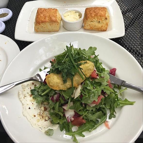 Tempura Avocado Salad
