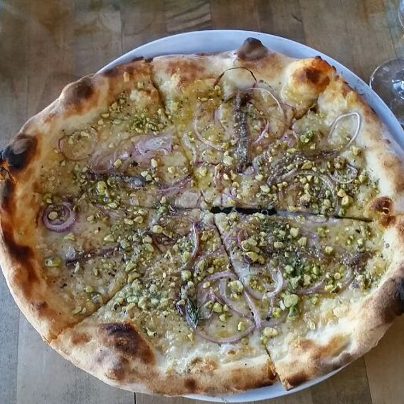 Rosa Pizza With Anchovies  @ Pizzeria Bianco