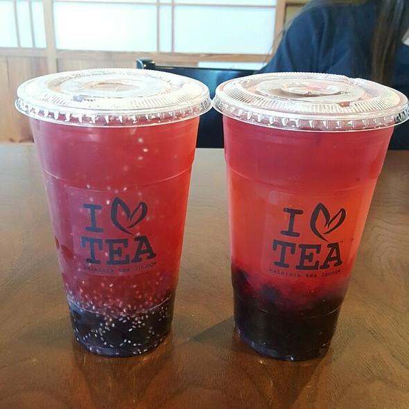 Fruit Fusion Tea and Merryberry Tea