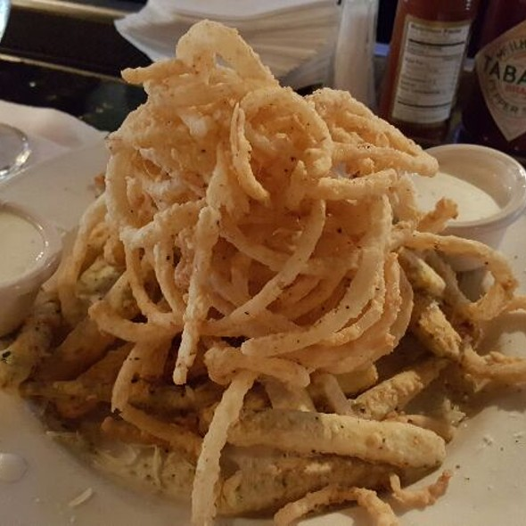 Fried Zucchini & Onion Rings