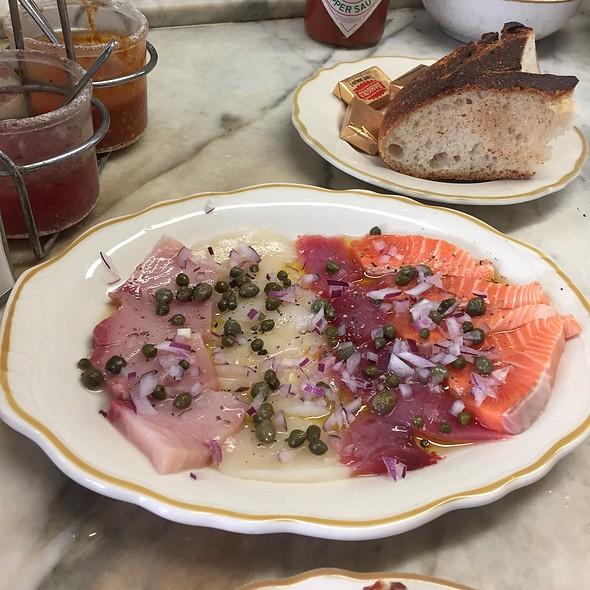 Sicilian Sashimi @ Swan Oyster Depot