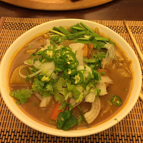 Vietnamese Beef Stew Noodles @ Irene's Kitchen