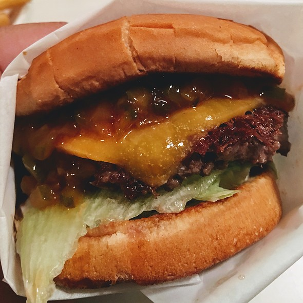 Steakburger With Cheese