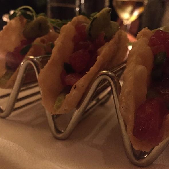 Tuna Tartare Tacos @ Lure Fish Bar