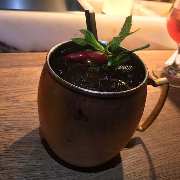 Mule With A Kick (Sailor Jerry Rum, Chilli, Ginger & Fresh Limes)