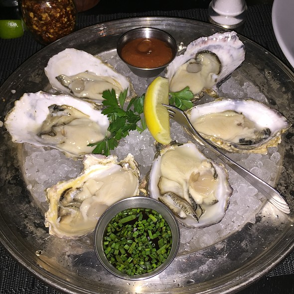Oysters @ Bedford & Burns