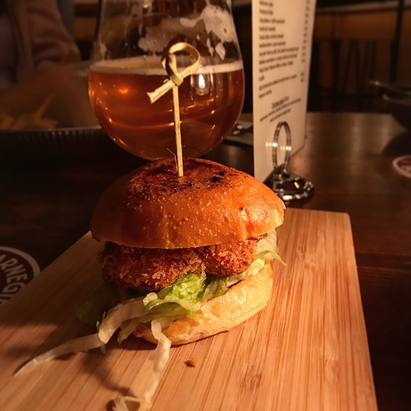 Crispy Fried Sweetbread Slider