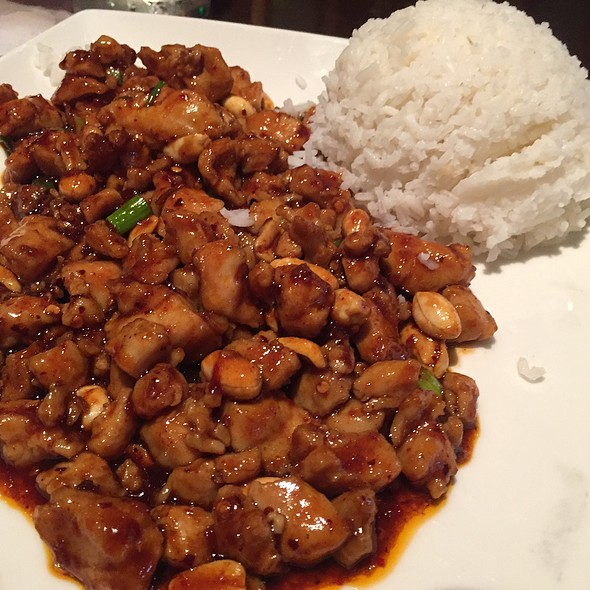 Kung Pao Chicken @ Nine Dragons