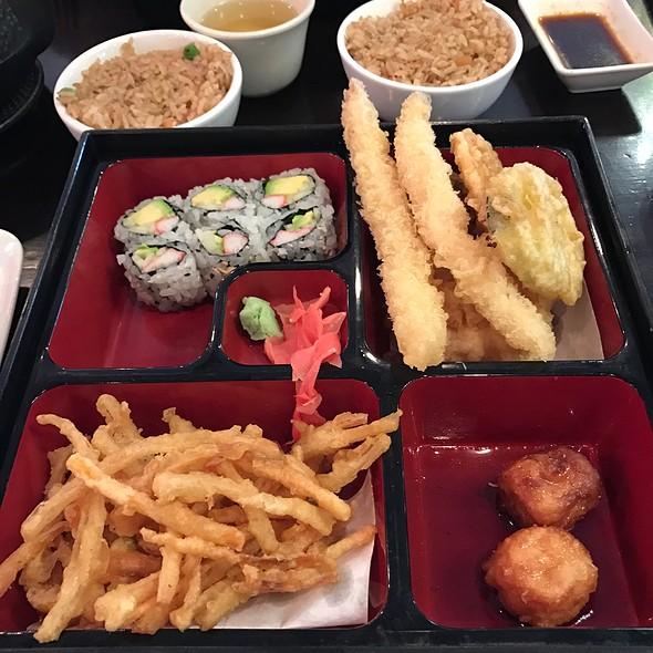 Shrimp Tempura Bento Box @ Lemon N Ginger Asian Grille