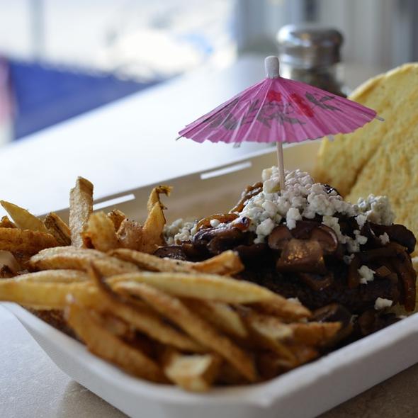 The Norwalk Burger @ The Beach Burger