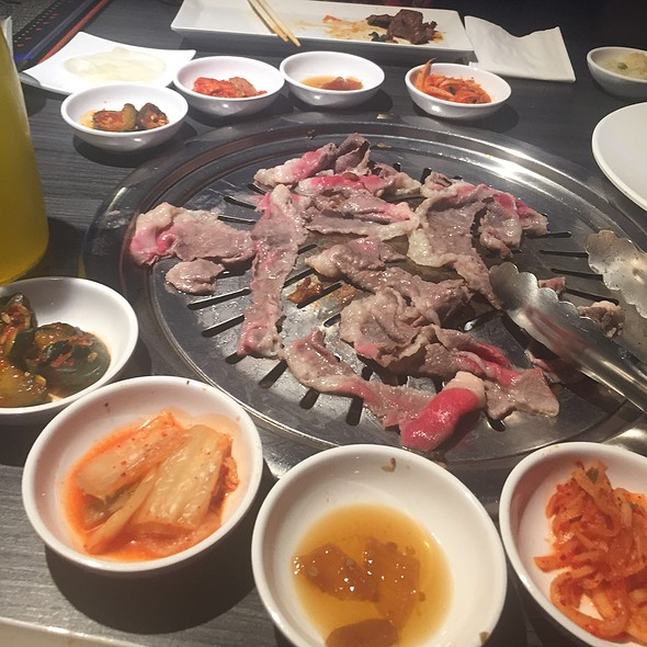 Assorted Meats And Side Dishes