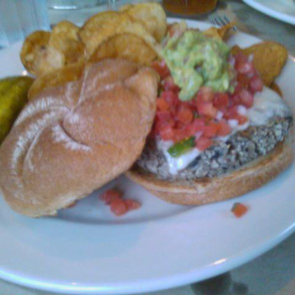 Black Bean Burger @ Bridge