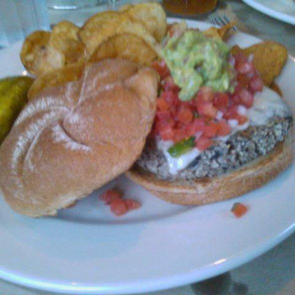 Black Bean Burger @ Bridge