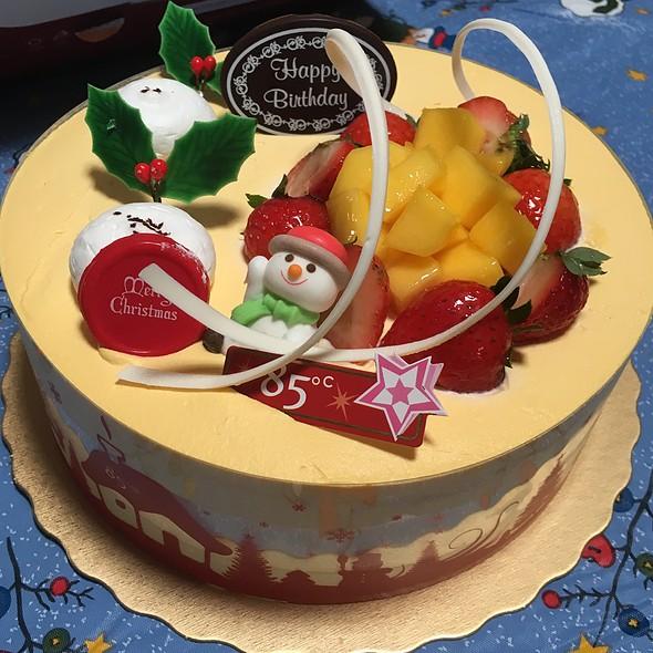 Mango Creme Brulee Cake