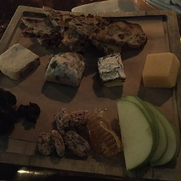 Cheese Plate @ Water Grill
