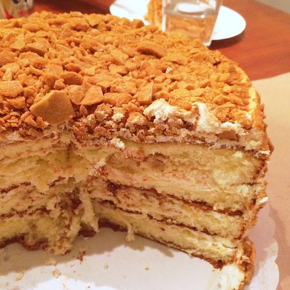 Coffee Crunch Cake @ Yasukochi's Sweet Stop