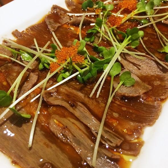 Wagyu Carpaccio @ DASH Japanese Tapas and Sushi
