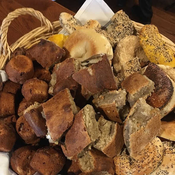 """Brunch With Santa"" Bread & Fresh Baked Ruffin Basket"