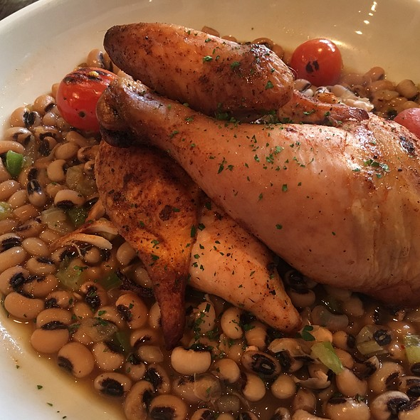 Smoked Chicken With Black Eye Peas