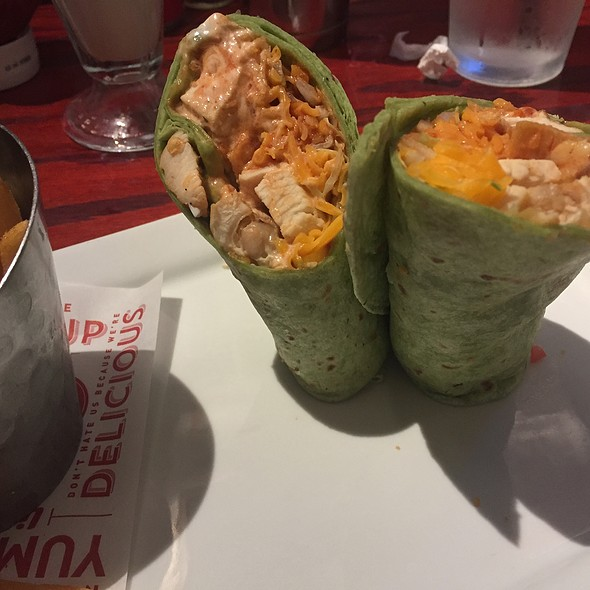 Whiskey River BBQ Chicken Wrap @ Red Robin
