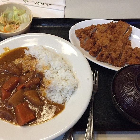 Tonkatsu And Curry Rice Combo @ Kui Shin Bo