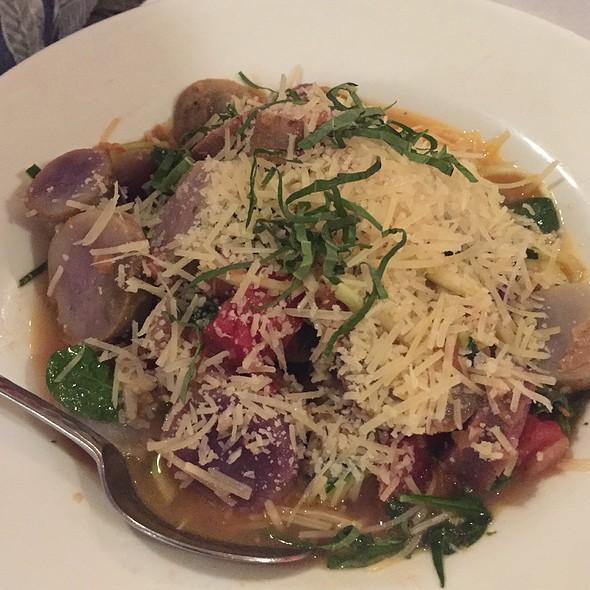 Zucchini Pasta @ Jackie Rey's Ohana Grill