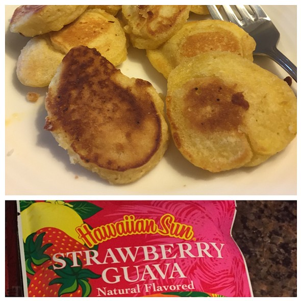 Strawberry Guava Pancakes @ KTA Super Stores