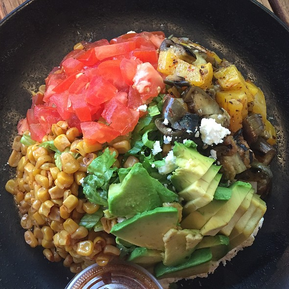 Grilled Veggie Salad @ Rebel Kitchen