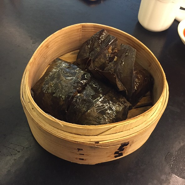 Glutinious Rice In Lotus Leaf