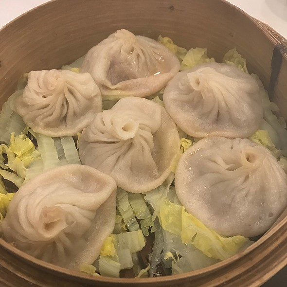 Crab & Pork Soup Dumplings @ Joe's Shanghai