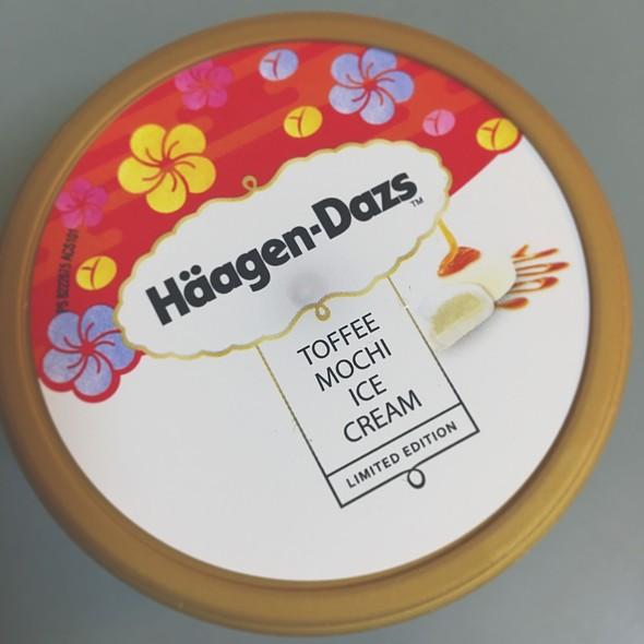 Häagen-Dazs Toffee Mochi Ice Cream