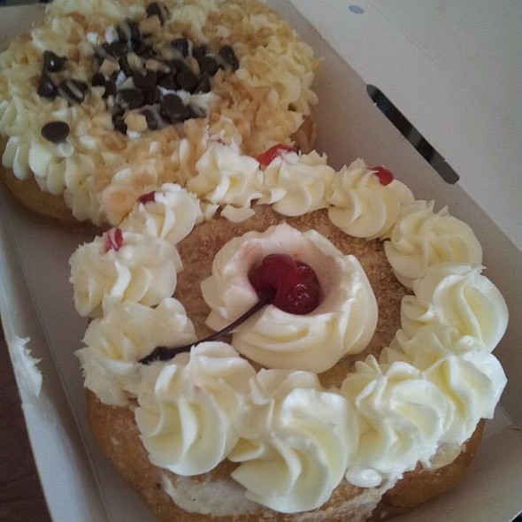 Cherry Donut & Chocolate Chip Donut
