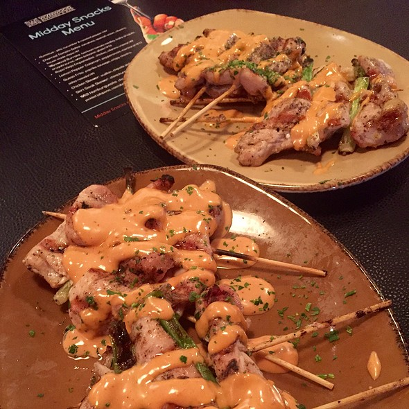 Chicken Skewers | Tabouleh | Yogurt Sauce